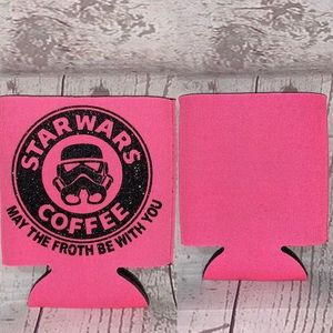 Other - 5 for $25 may the froth be with you koozie new